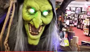 the halloween store spirit spirit halloween vip animatronic tour 2nd visit youtube