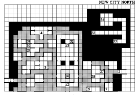 map of new city sorcerer s place wizardry 7 walkthrough new city