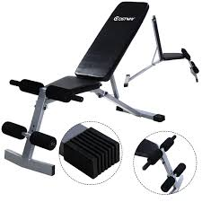 amazon com goplus incline sit up bench foldable slant board ab