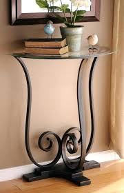 half moon table target half round console tables new ideas round console table with half