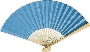 hand fans for sale turquoise paper fans by fantastica supplier of all types of hand fans
