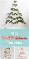 10 diy wall christmas tree ideas tip junkie