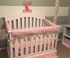 11 best pink and gray baby crib bedding ideas images on