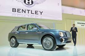bentley suv 2014 bentley suv gets go ahead from vw teased in video