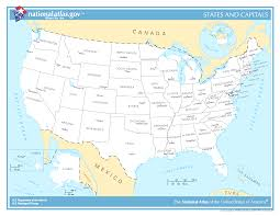 united states map with state names and capitals quiz popular 184 list us map with capitals