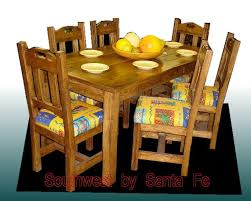 Mexican Dining Room Furniture by Old West Southwestern Style Dining Tables