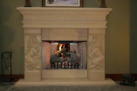 fireplace stone tile fireplace stone karia pattern natural