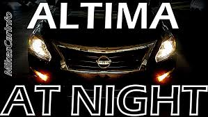 nissan altima 2015 deals 2015 nissan altima at night youtube