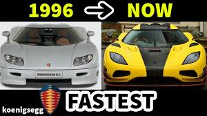 car pushing the limits koenigsegg top 5 fastest koenigsegg super sport cars evolution youtube