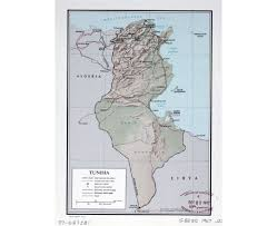 map of tunisia with cities maps of tunisia detailed map of tunisia in tourist map