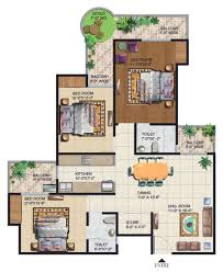 grand floor plans ajnara grand heritage floor