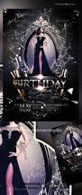730 best birthday u0026 anniversary flyer template images on pinterest