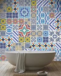 lowes backsplash peel and stick waterproof shower tile decals