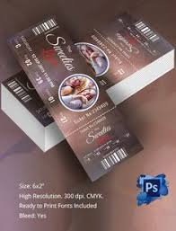 event ticket template vi ticket template event ticket and template
