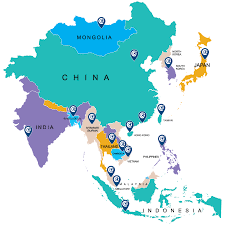 Asia And South Pacific Map by About The Business Centre The French Chamber Of Commerce In