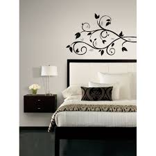 new black silver tree branch wall decals leaves stickers modern new black silver tree branch wall decals leaves stickers modern room decor ebay