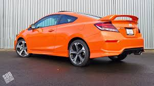 review 2014 honda civic si coupe subcompact culture the small