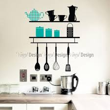 Kitchen Wall Shelf Kitchen Cabinet With White Color And Green Backsplashes Also Gray