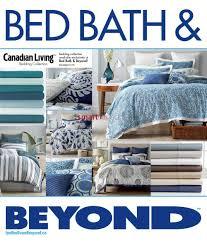 bed bath u0026 beyond canada flyers