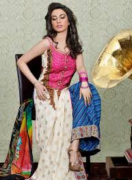 pink colour combination dresses charmeuse silk dresses for girls by asim jofa