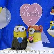 minion wedding cake topper cake topper imaginative icing cakes scarborough york