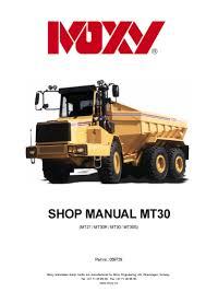 doosan dump truck mt30s mt30 workshop repair service manual pdf