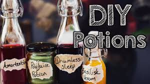 diy harry potter potions edible youtube