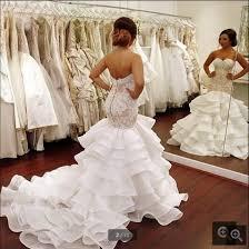 wedding dress for curvy aliexpress buy new designer 2016 organza mermaid lace