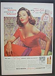 westmore cosmetics 1952 westmore cosmetics with gene tierney at ads by