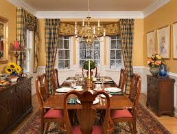 Casual Dining Room Ideas Room Window Treatments For Bay Windows In Dining Room Interior