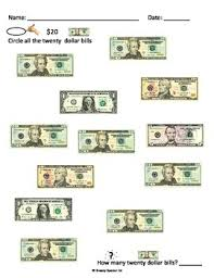money math worksheets freebie for special education by breezy