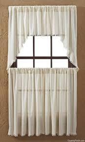 Victorian Swag Curtains Nutmeg Tobacco Cloth Window Curtain Prairie Swag Victorian Heart