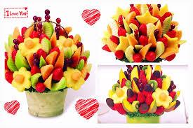 diy arreglo de frutas con chocolate edible arrangements