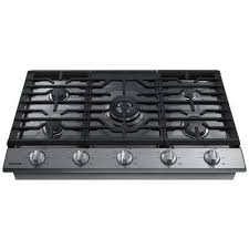 36 Inch Cooktop With Downdraft 36 In Gas Cooktops Cooktops The Home Depot