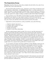 compare and contrast essays samples for college cover letter example of expository essay good example of cover letter expository writing prompts th grade expository essay samples and examples xexample of expository essay