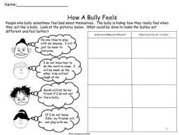 free bully prevention graphic organizer stop bullying in schools