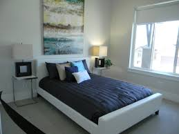 blue and white decorating ideas bedroom stunning bedroom color scheme idea with white wall and
