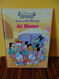 disney babies fun with words 1991 oop