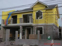 modern house building alta tierra village house construction project in jaro iloilo