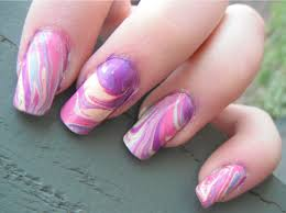 nail arts with water nail art designs