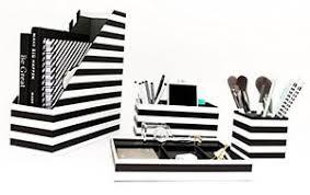 Black And White Desk Accessories Desk Black White Desk Accessories Organizer 4 Pcs Set For Office