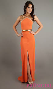 fashions for prom blog archive 4 bright beautiful orange long