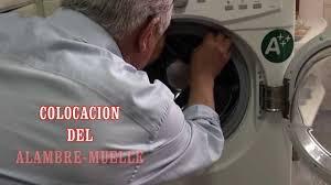 lavadora reposicion de la goma de la escotilla youtube