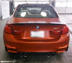 opal car 2015 f82 m4 canada launch edition frozen red and opal white