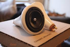 designer speakers review ceramic speakers by joey roth techcrunch