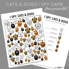 themed l cats dogs themed i free printable for kids