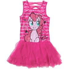 my little pony ap mlp amrcna bow back cascade dress walmart com