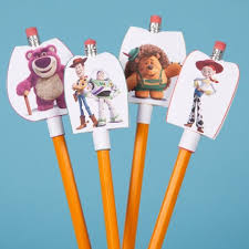toy story pencil toppers disney family