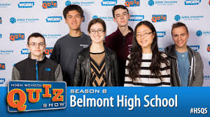 belmont high joins season 8 of high quiz show belmont ma