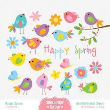 happy spring clip art many interesting cliparts